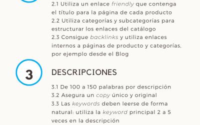 Infografía: E-commerce SEO Checklist