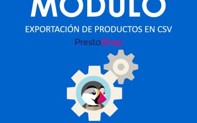 Módulo gratis para exportar el catálogo de productos en Prestashop